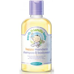 Earth Friendly Baby Organic Shampoo / Bodywash - Mandarin - 251ml