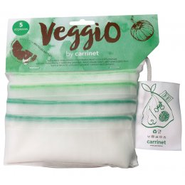 Carrinet Veggio Reusable Net Produce Bags - Pack of 5