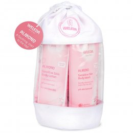 Weleda Almond Wash Bag Gift Set