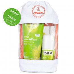 Weleda Citrus Wash Bag Gift Set