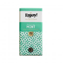Enjoy Raw Chocolate Mint Chocolate Bar - 35g