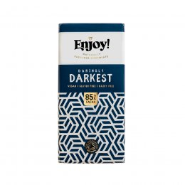 Enjoy Raw Chocolate 85 percent  Dark Chocolate Bar - 35g