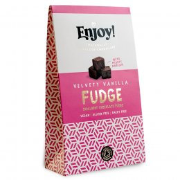 Enjoy Vegan Vanilla Chocolate Fudge - 100g