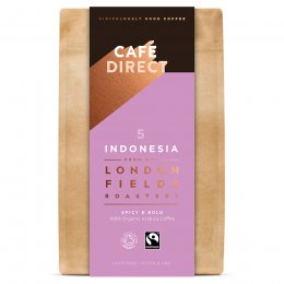 Cafedirect London Fields Indonesia Organic Ground Coffee - 200g