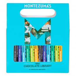 Montezumas Mini Bar Chocolate Library - 250g