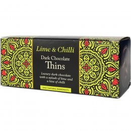 Beechs Dark Chocolate Lime & Chilli Thins - 150g
