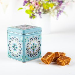 Cotswold Sea Salt Fudge Gift Tin - 100g