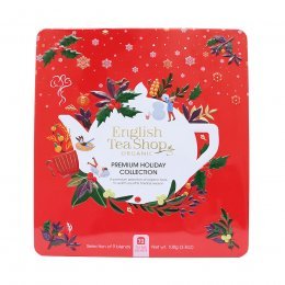English Tea Shop Premium Holiday Collection Red Gift Tin - 72 Bags
