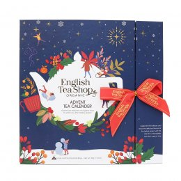 English Tea Shop Book Style Christmas Night Advent Calendar - 25 Bags