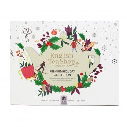 English Tea Shop Premium Holiday Collection White Gift Box - 48 Bags