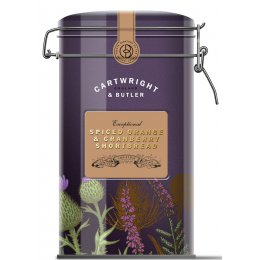 Cartwright & Butler Spiced Orange & Cranberry Shortbread - 200g