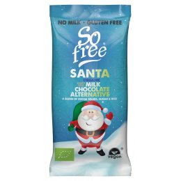 Plamil So free Milk Alternative Organic Chocolate Santa Bar -  20g