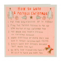 ARTHOUSE Unlimited Christmas Instructions Charity Card