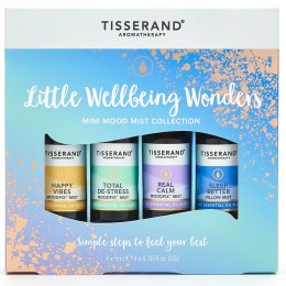Tisserand Pocket-Sized Wellbeing Oils Gift Set