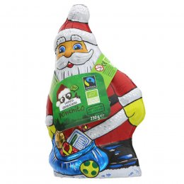 Ponchito Large Milk Chocolate Surprise Santa - 230g