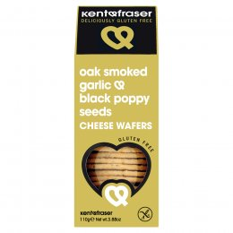 Kent & Fraser Garlic & Poppy Seed Wafer - 110g