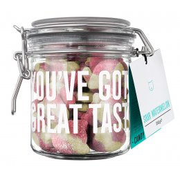 Candy Kitten Sour Watermelon Sweets Gift Jar - 350g