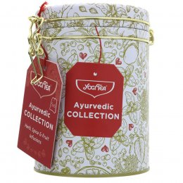 Yogi Tea Ayurvedic Collection Gift Tin - 30 Bags