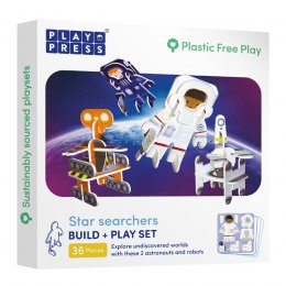 Play Press Toys Star Searchers Build and Play Set