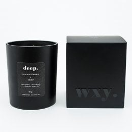 WXY Black Deep Candle