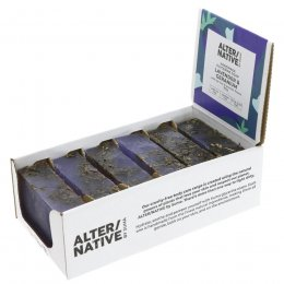 Alternative by Suma Glycerine Soap - Lavender & Geranium- 6 x 90g