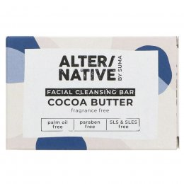 Alternative by Suma Facial Cleansing Soap Bar - 95g