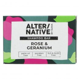 Alternative by Suma Shampoo Bar - Rose & Geranium - 95g
