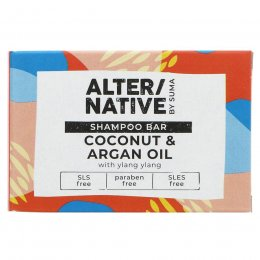 Alternative by Suma Glycerine Shampoo Bar - Coconut & Argan Oil - 90g