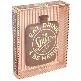 Mr Stanleys Chocolate Hip Flask - 105g