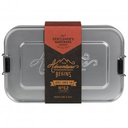 Gentlemans Hardware Metal Lunch Box - Large