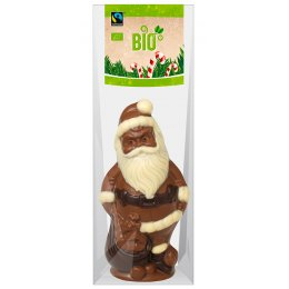 Riegelein Organic Chocolate Santa Clause - 100g