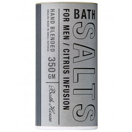 The Bath House Citrus Bath Salts for Men - 350g