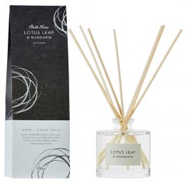 The Bath House Lotus Leaf & Mandarin Room Diffuser - 100ml