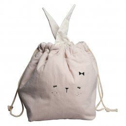 Fabelab Mauve Bunny Storage Bag - Small