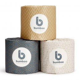 Bumboo Luxury Bamboo Toilet Paper - 24 Extra Long Rolls