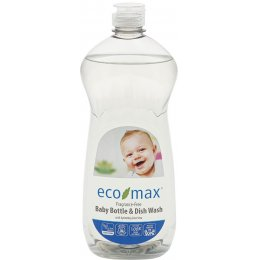 Eco-Max Baby Bottle & Dish Wash - Fragrance Free - 740ml