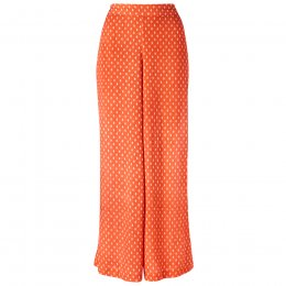 Nomads Papaya Rice Print Wide Leg Trousers