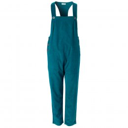 Nomads Teal Needlecord Dungarees