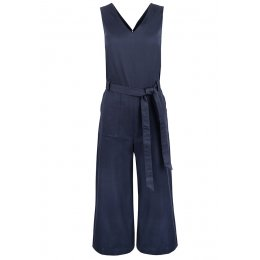 People Tree Navy Vesta Jumpsuit