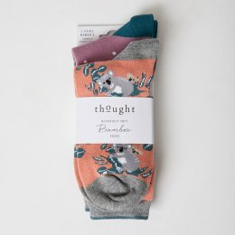 Thought Canguro Bamboo Socks - UK4-7 - 2 Pairs