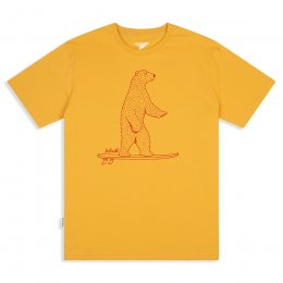 Mens Surf Wild T-Shirt - Maize