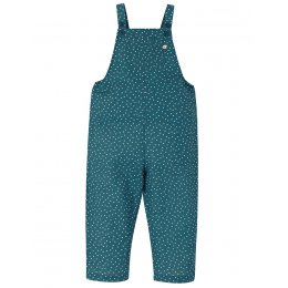 Frugi Steely Blue Lexi Linen Dungarees