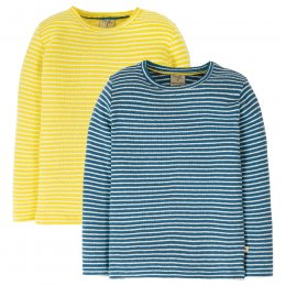 Frugi Pointelle Tops - Pack of 2