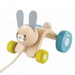 Plan Toys Pull-Along Hopping Rabbit