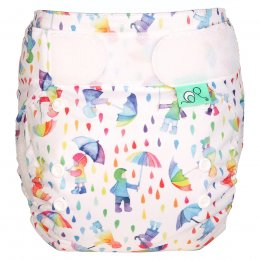 Tots Bots Easyfit Star All-in-One Reusable Nappy - Dilly Dally