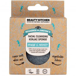 Beauty Kitchen Seahorse Plankton  Facial Cleansing Konjac Sponge