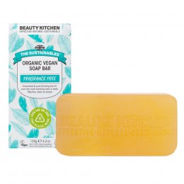 Beauty Kitchen The Sustainables Fragrance Free Organic Vegan Soap Bar - 120g