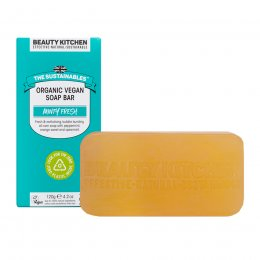 Beauty Kitchen The Sustainables Minty Fresh Organic Vegan Soap Bar - 120g