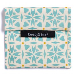 Keep Leaf Reusable Large Food Baggie - Geo