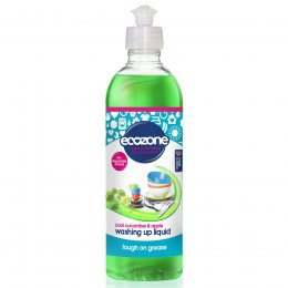 Ecozone Washing Up Liquid - Cool Cucumber & Apple- 500ml